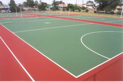 Netball And Tennis Court Construction